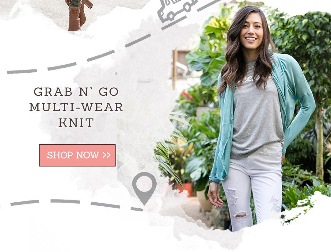 Grab N' Go Multi-Wear Knit