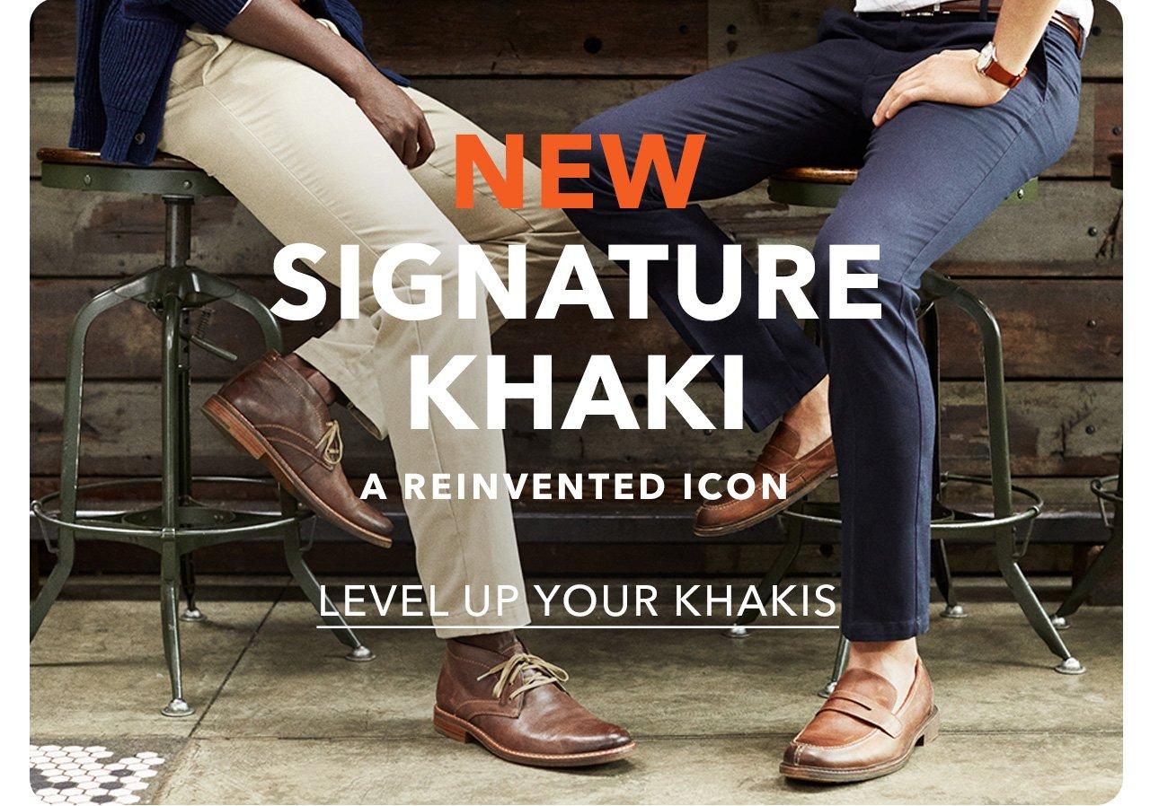 Level Up Your Khakis