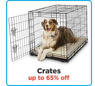 Crates up to 65% off.