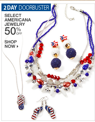 Shop 50% off Americana Jewelry