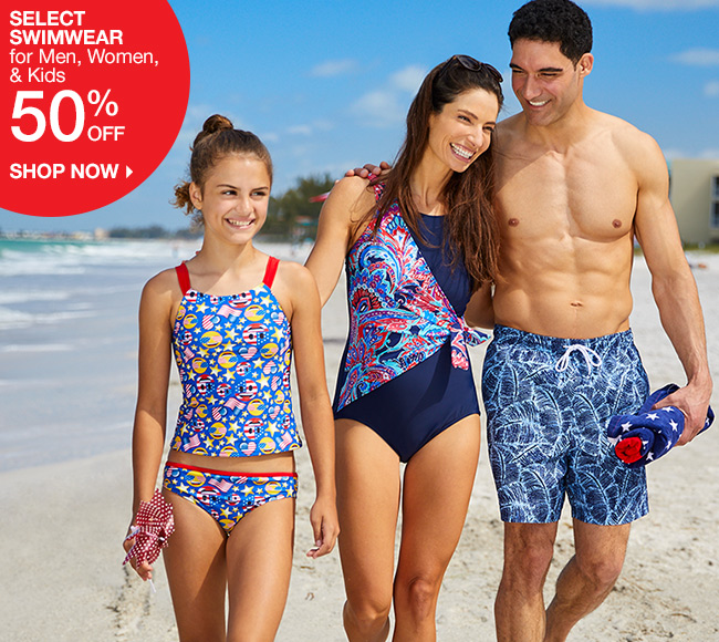 Shop 50% Off Swimwear