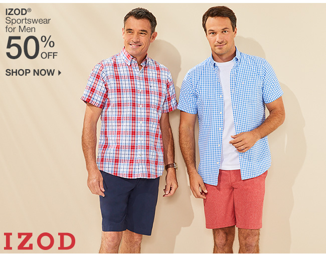 Shop 50% Off Izod Sportswear
