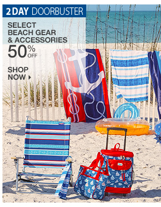 Shop 50% Off Beach Gear