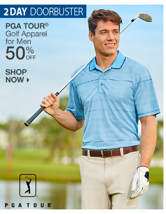Shop 50% Off PGA Tour Golf Apparel