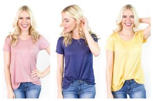Soft Relaxed Pocket Tee - 18 Colors! graphic