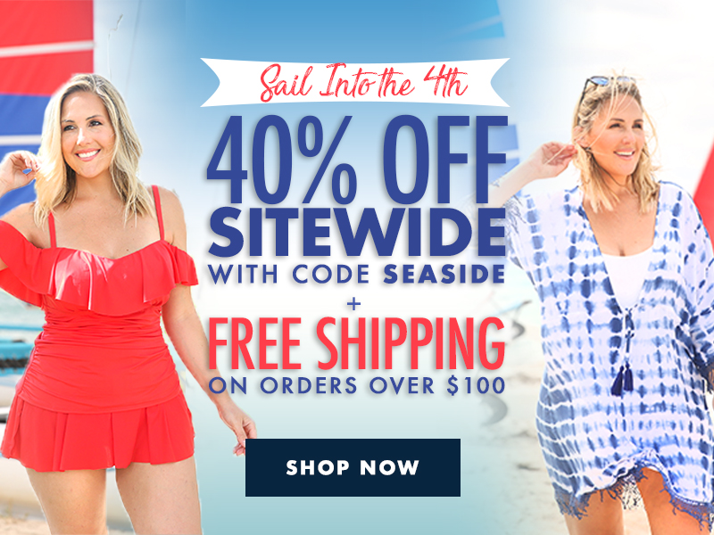 Sail into the 4th with 40% off sitewide with code: SEASIDE