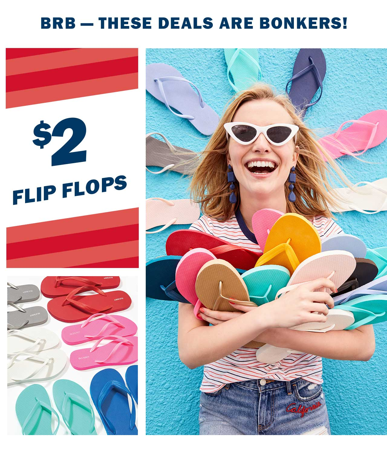 BRB  THESE DEALS ARE BONKERS! | $2 FLIP FLOPS