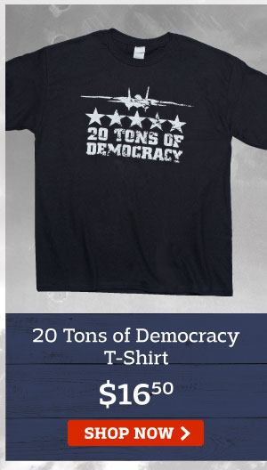 20 Tons of Democracy T-Shirt