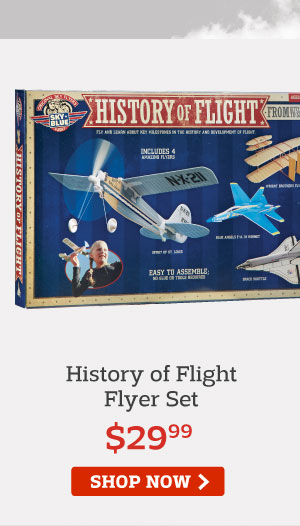 History of Flight Flyer Set