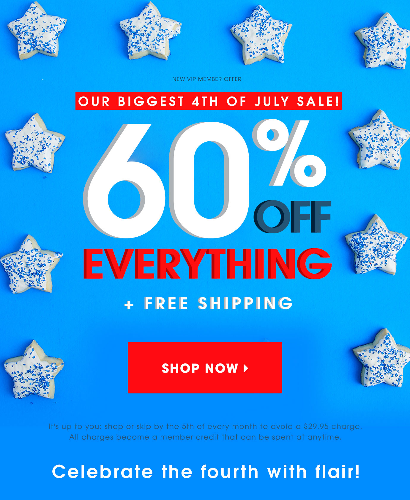 60% Off EVERYTHING