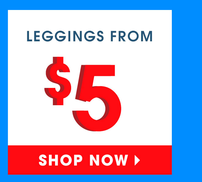 Shop 60% Off Leggings