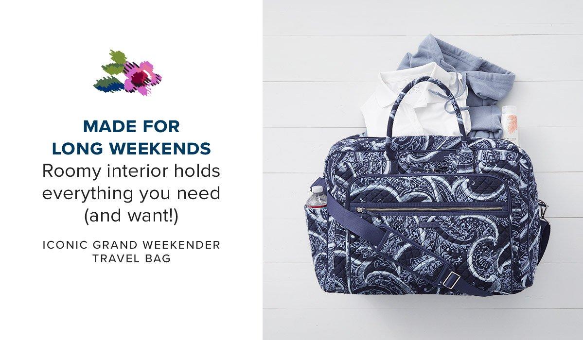 Iconic Weekender Travel Bag in Indio