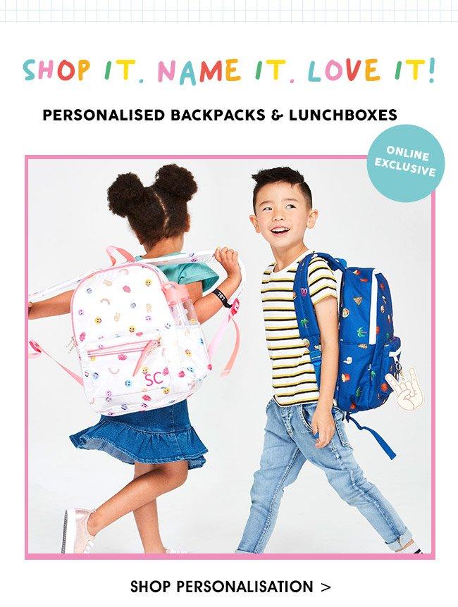 Shop Kids Personalisation