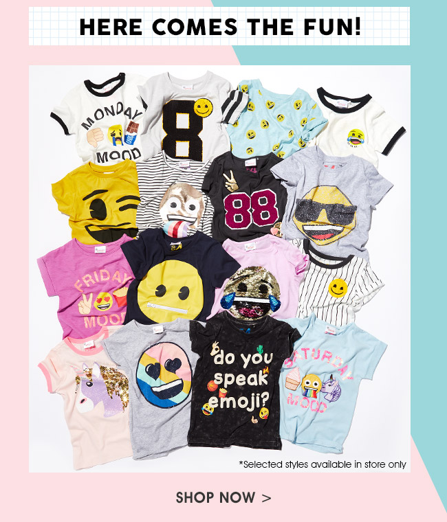 Shop Kids Emoji