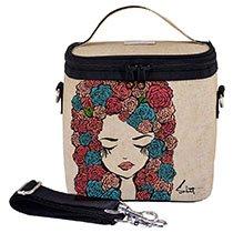 SoYoung - Pixopop Roses Girl Large Cooler Bag