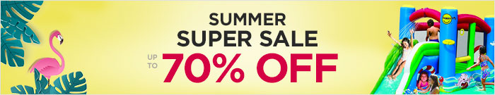 Summer Super Sale up to 70% OFF