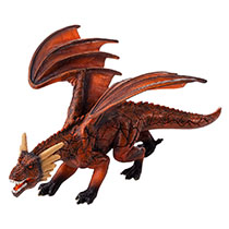 Animal Planet - Mojo Fire Dragon Toy Figure - Red