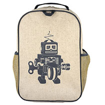 SoYoung - Grey Robot Grade School Bagpack
