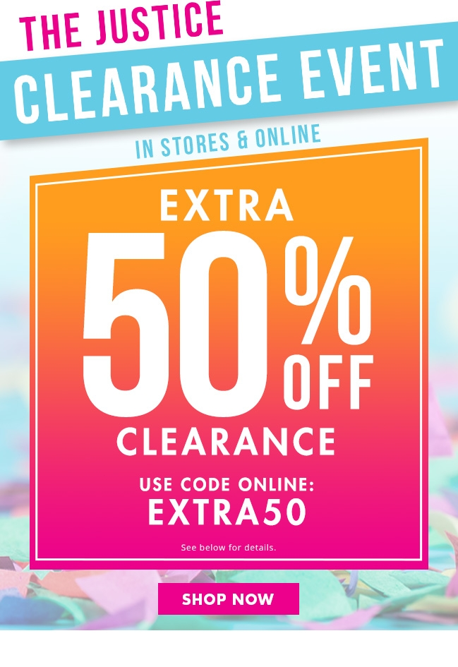 Clearance Event!