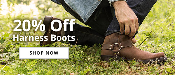 20% Off Select Harness Boots