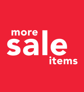 SHOP ALL SALE ITEMS UP TO 40% OFF