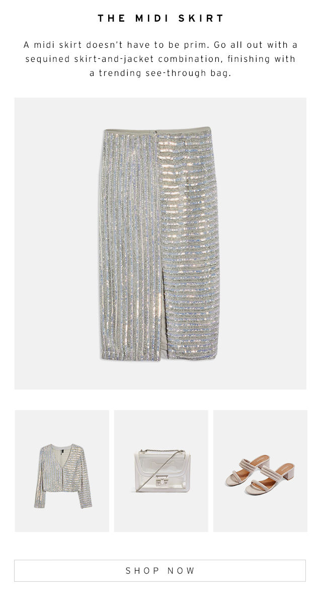 Occasion dressing with personality