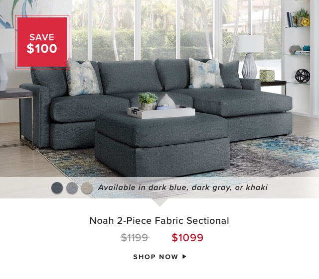 Noah Fabric Sectional