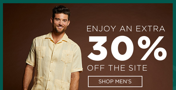 GET 30% OFF | SHOP MEN'S