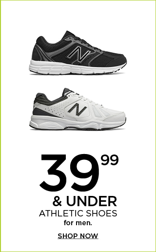 $39.99 & under athletic shoes for men. Shop now.