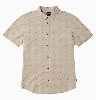 And Sons Printed Button-Up Shirt