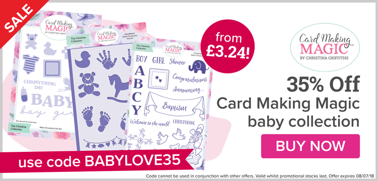 35% Off Selected Card Making Magic!