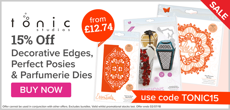 15% Off Selected Tonic Dies!