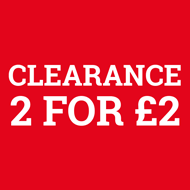 Clearance: 2 for 2!