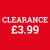 Clearance: 3.99