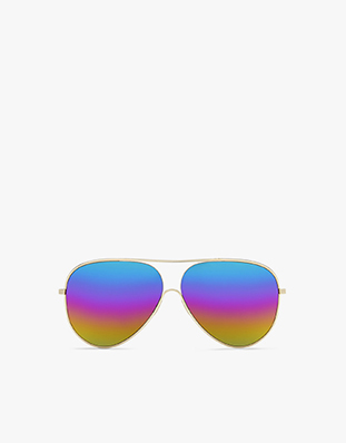 Loop Aviator with rainbow lenses