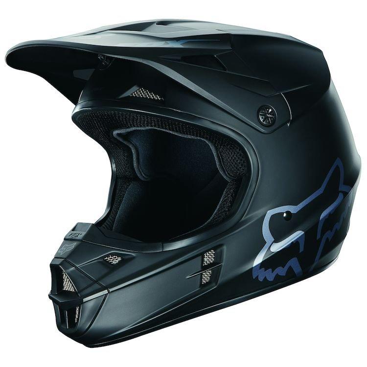 Fox Racing V1 Matte Black Helmet