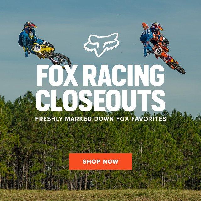 Fox Racing Closeouts - Shop All