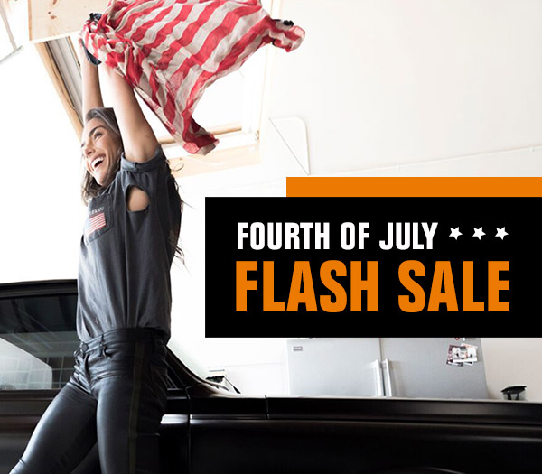 FOURTH OF JULY FLASH SALE