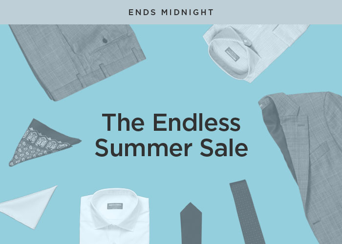 THE ENDLESS SUMMER SALE [SHOP NOW] [SHOP NOW]