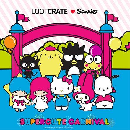 "Sanrio ""Small Gift"" Crate"