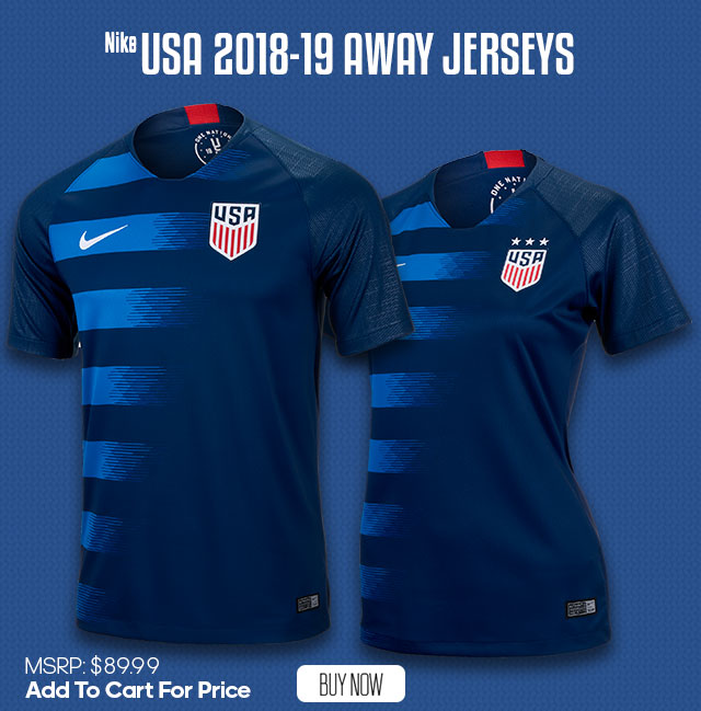 USA Soccer Jerseys & Apparel - SHOP NOW!
