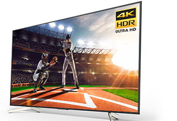 X850F 4K Ultra HD TV