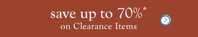 save up to 70% on clearance items >