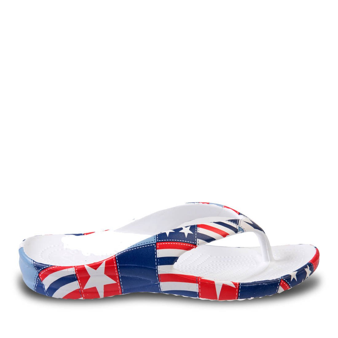 Image of Kids' Loudmouth Flip Flops - Betsy Ross