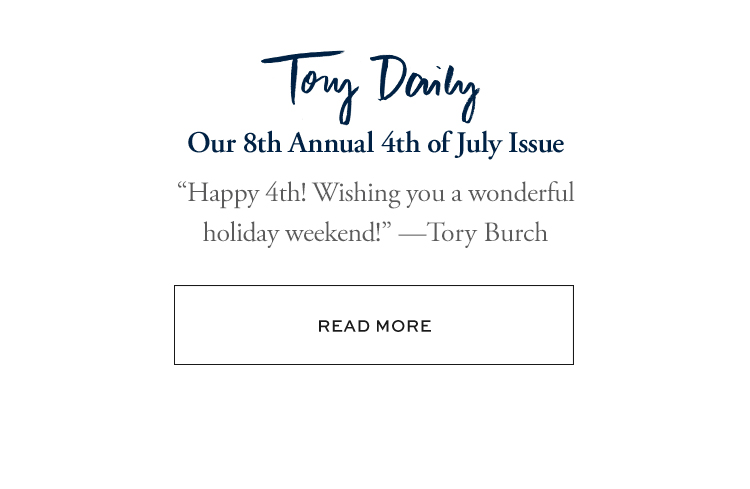 TORY DAILY | READ MORE