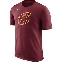 Men's Cleveland Cavaliers Nike Wine Logo T-Shirt