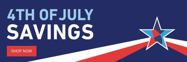 4th of July Savings.