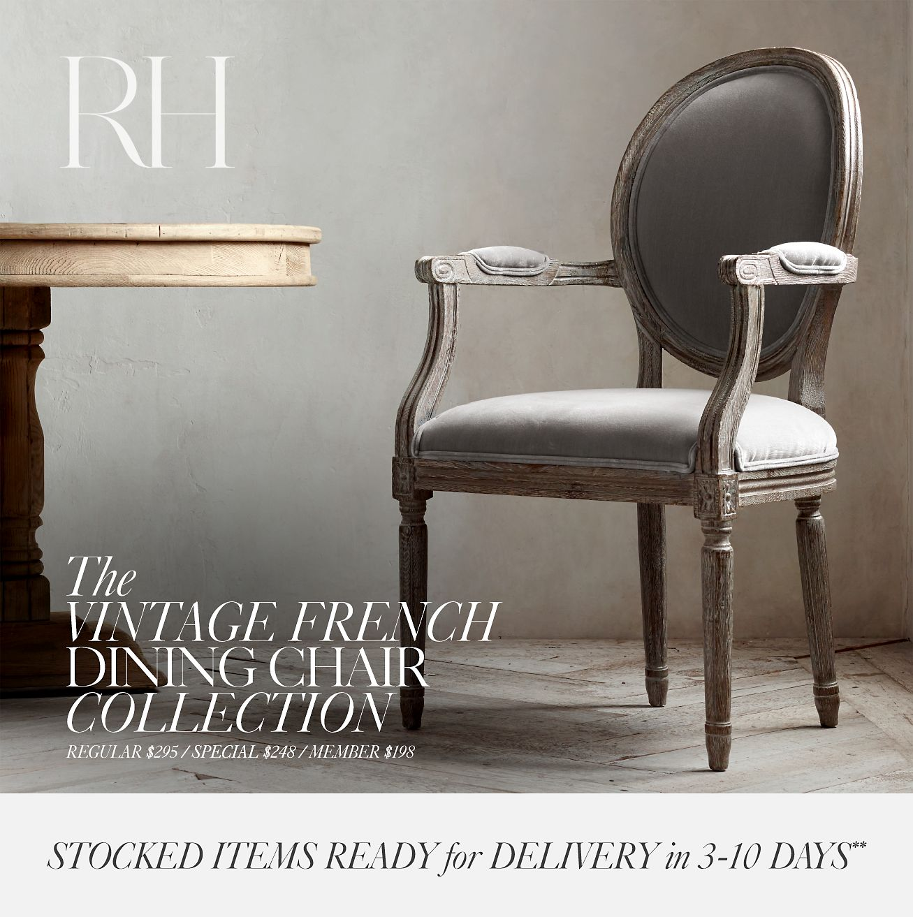 The Vintage French Dining Chair Collection