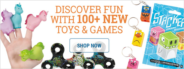 100+ New Toys & Games