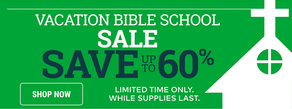 Vacation Bible School Sale